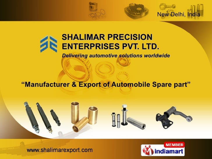 Engine Parts Steering and Suspension Parts New Delhi India