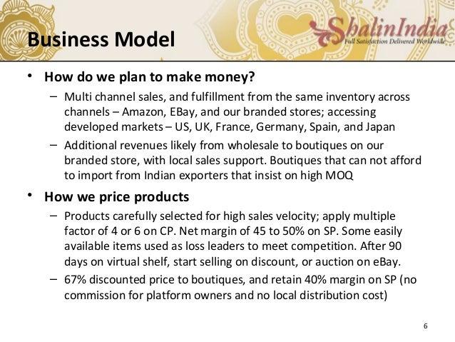 Handmade jewelry business plan