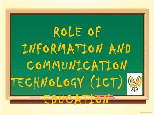 essay about ict in education