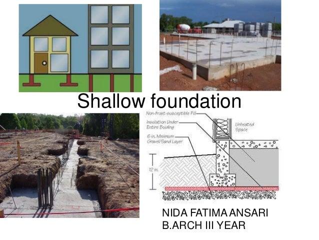 shallow foundation tos