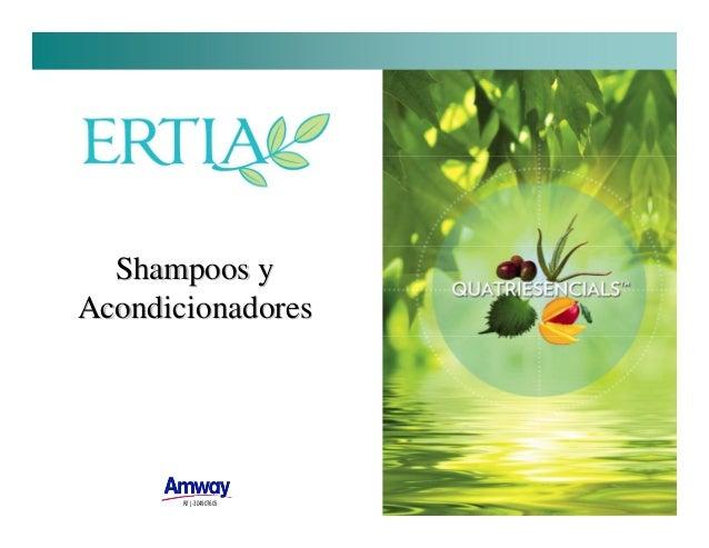 Shampoos y Acondicionadores  Rif J-304907605