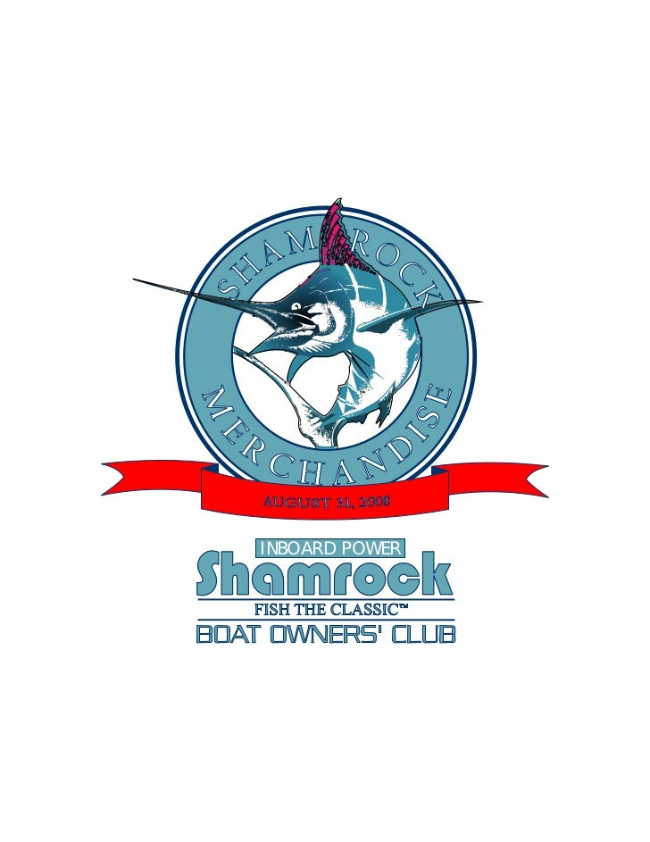 Shamrock Merchandise Book  8 31 08 Final