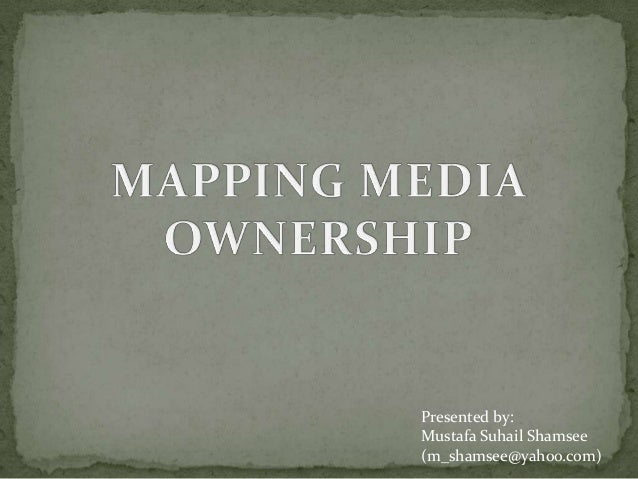 Mapping Media Ownership