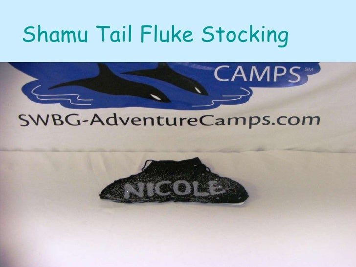 Shamu Tail Fluke Stocking