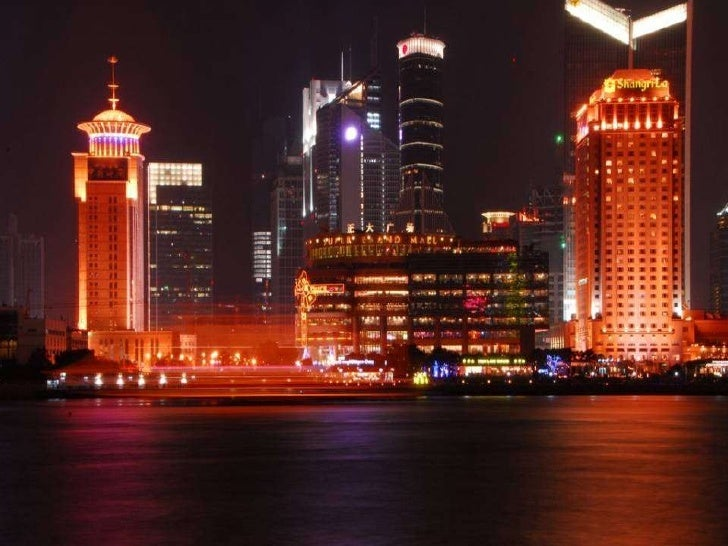 Shanghai The largest city in China 上海