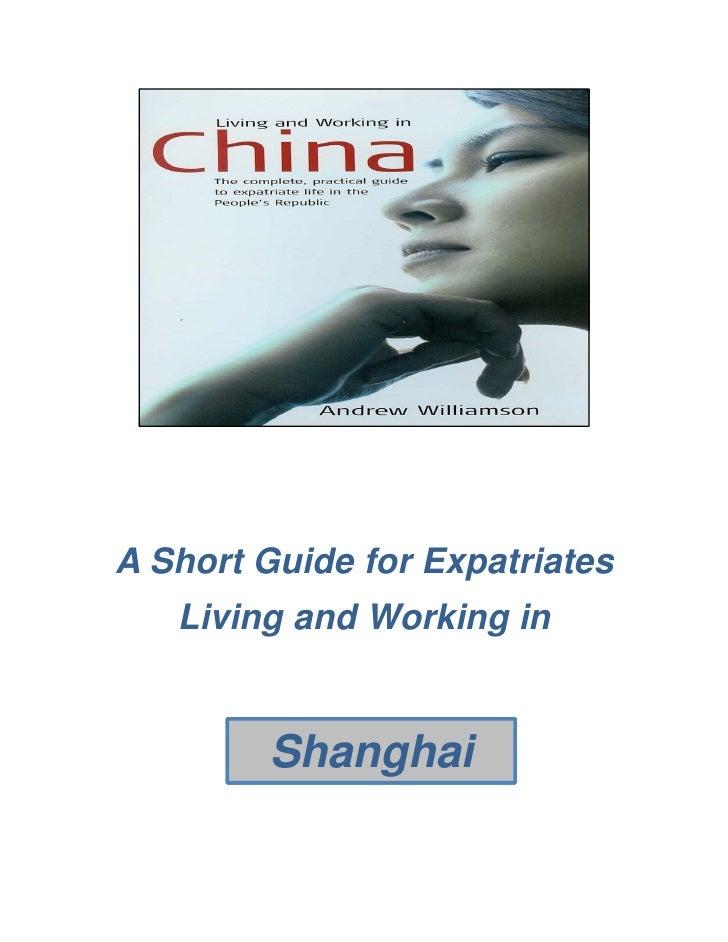 Shanghai Briefing