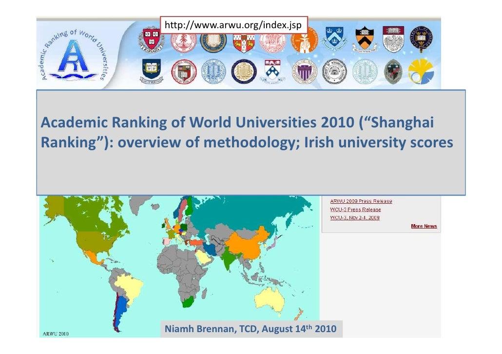 Shanghai ranking2010