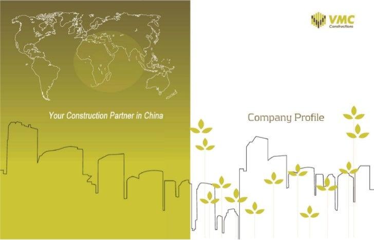 Former VMC Constructions General Catalogue