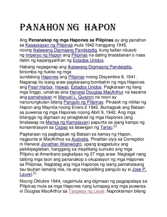 Pananakop ng mga Hapones sa Pilipinas