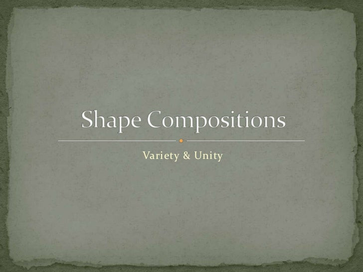 Shape compositions