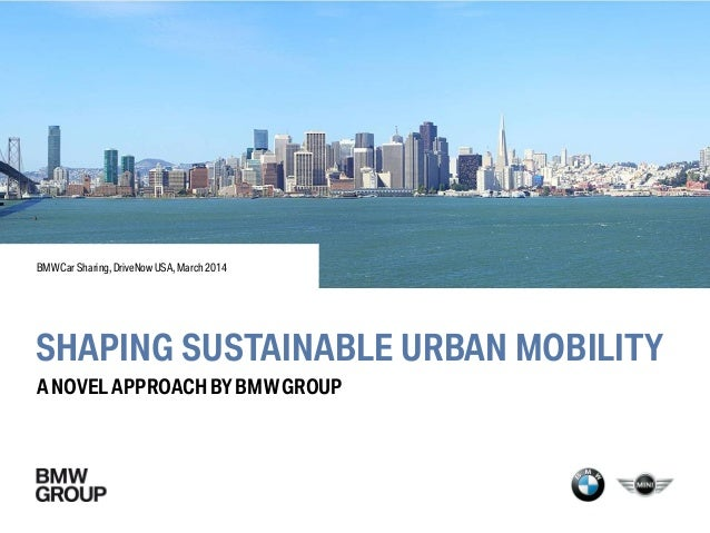 Shaping Sustainable Urban Mobility