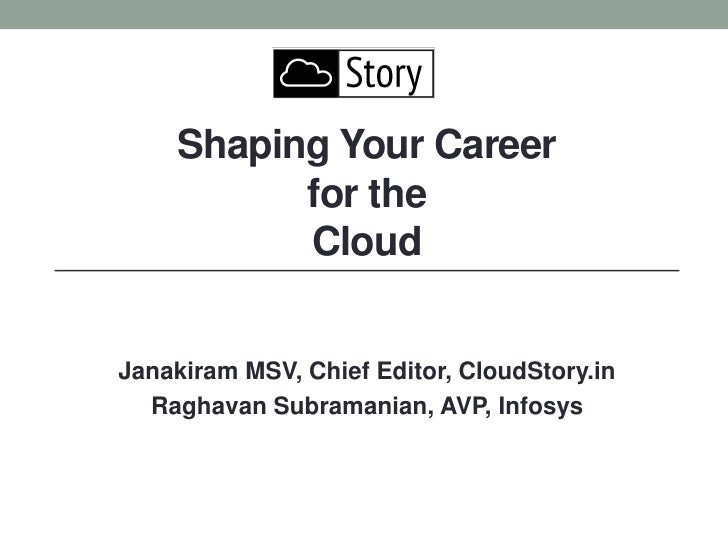 Shaping your career for Cloud