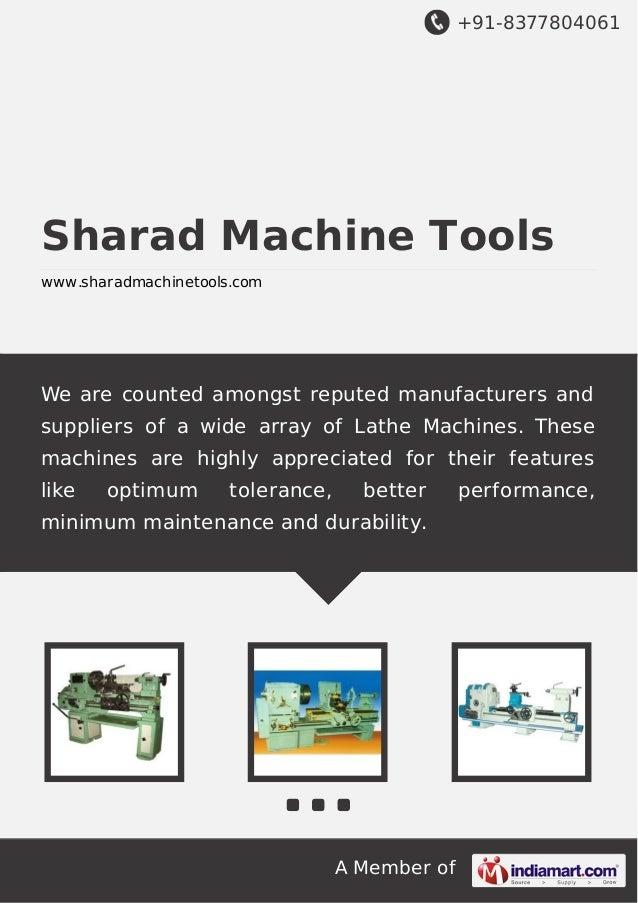 Sharad machine-tools