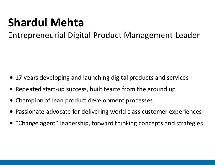 Shardul MehtaEntrepreneurial Digital Product Management Leader• 17 years developing and launching digital products and ser...
