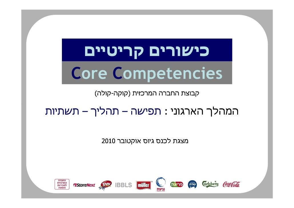 ¯ Core Competencies      (     -        )   ¯    –              –           :           2010               ¯
