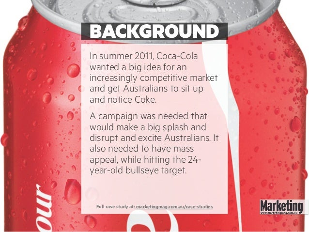 case study on rural marketing of coca cola According to businessweek magazine, the coca-cola brand is the strongest  brand  however, a global study of consumers sponsored by reuters found that   of the ipod and launch of apple's itunes program, a case could be made that  the.
