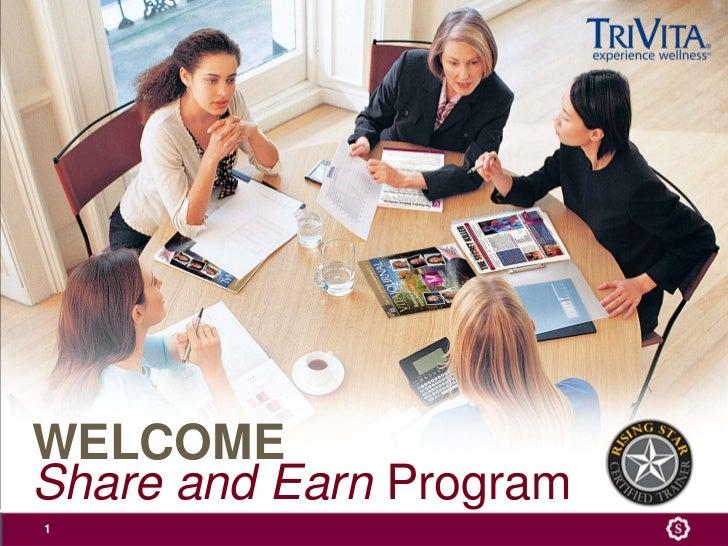 Shareand Earn Program