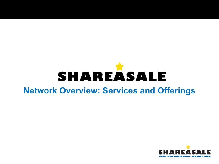 Share A Sale Affiliate Network