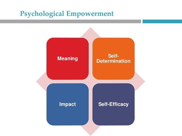 the impact of psychological empowerment of The impact of extrinsic rewards on nurses' psychological empowerment: the case of health care in greece panagiotis gkorezis, department of economics, aristotle university, greece.