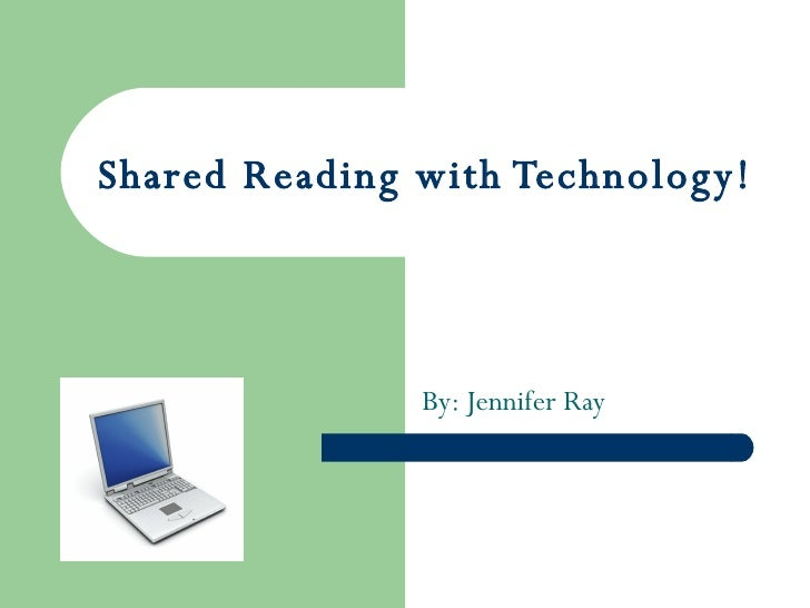 Shared Reading With Technology!