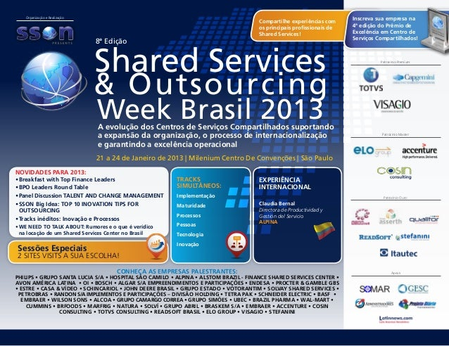 Shared services brasil 2013