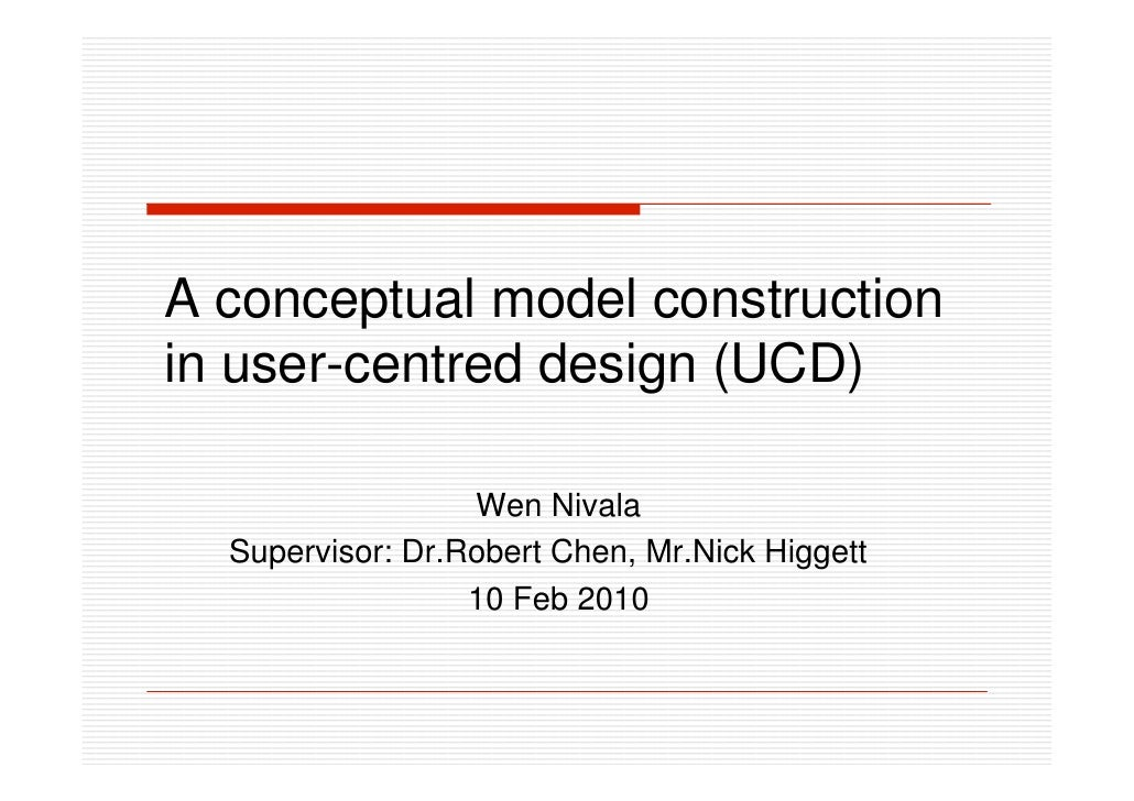 A theoritical model construction in user research by empathic design with persona