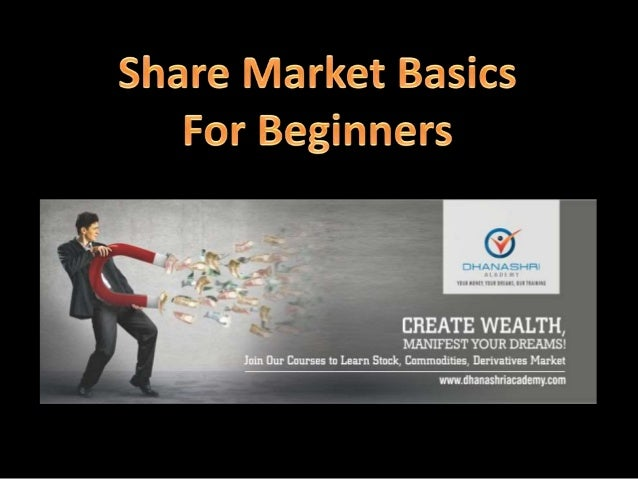 share market basics beginners ppt
