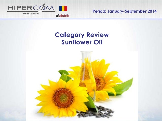 Share of Voice Sunflower Oil Jan-Sept 2014