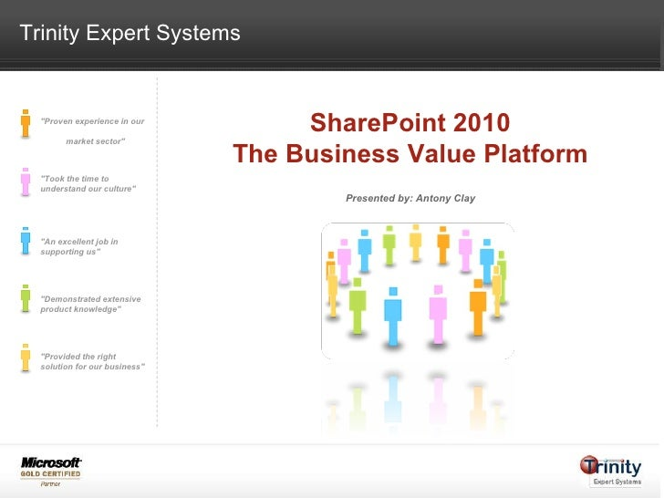 SharePoint 2010 - The Business Value Platform