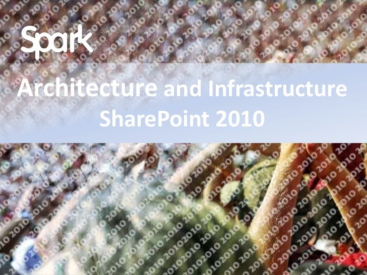 SharePoint 2010 architecture and infrastructure