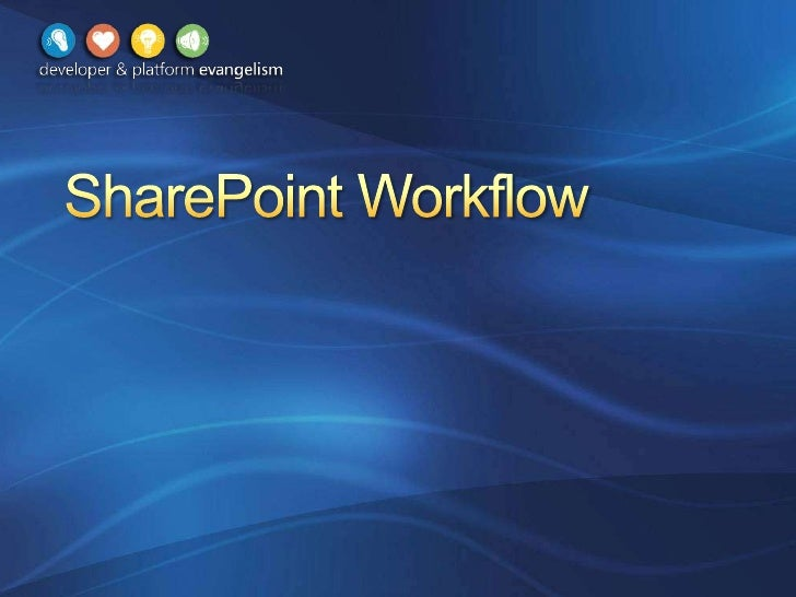 Share Point 2010 Workflow