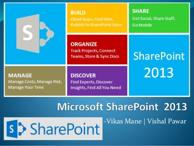 Introduction To Microsoft SharePoint 2013