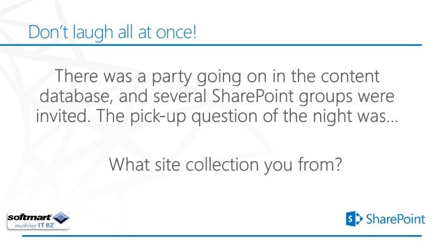Don't laugh all at once!©2012 Microsoft Corporation. All rights reserved. Content based on SharePoint 15 Technical Preview...