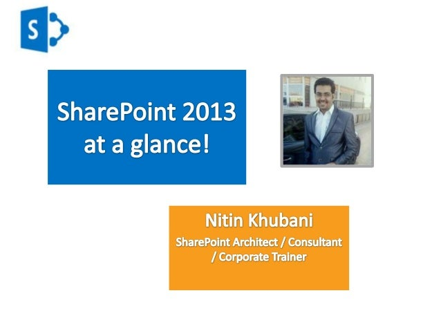 What is SharePoint?• Platform developed by Microsoft launched in2001• Basically built to manage the contentmanagement and ...