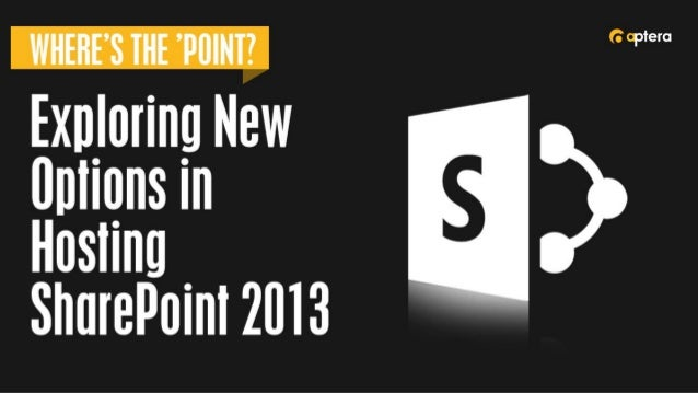 Planning for SharePoint 2013  • Today's Format    • Presentation    • Review/Questions    • Roundtable