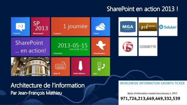… par Jean-François Mathieu, MGA ConceptSource: http://www.emc.com/leadership/digital-universe/index.htm