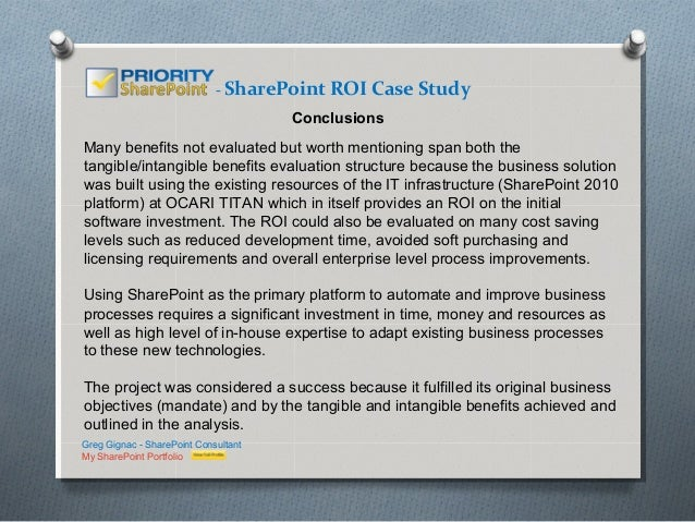 sharepoint case study