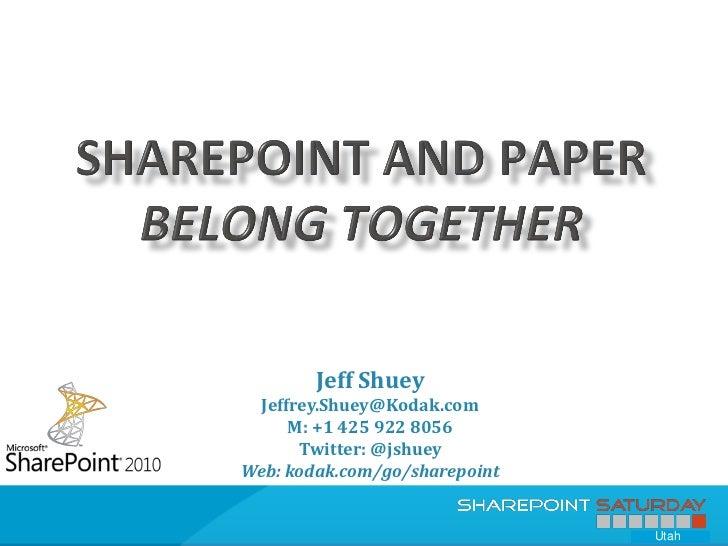 SharePoint Saturday - Austin (Jan 2012)