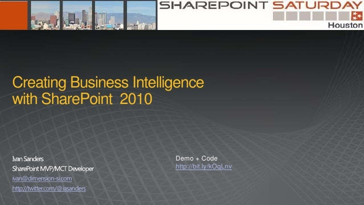 SharePoint Saturday Houston 2012