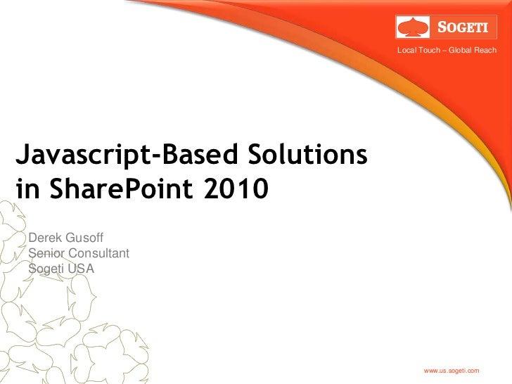 Share point saturday presentation 9 29-2012-2