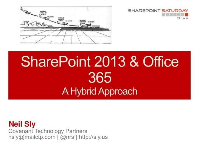 SharePoint Saturday St Louis - Hybrid SharePoint