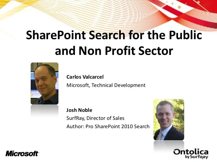 SharePoint Search Goes Public!