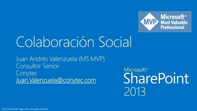 SharePoint y la Colaboración Social