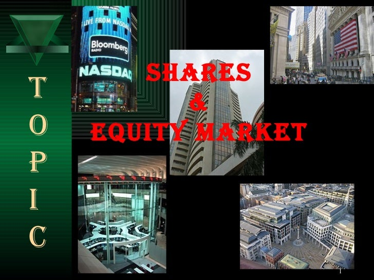 Shares & equity