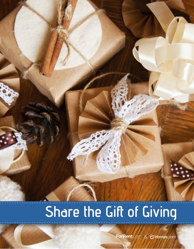 Share the Gift of Giving &