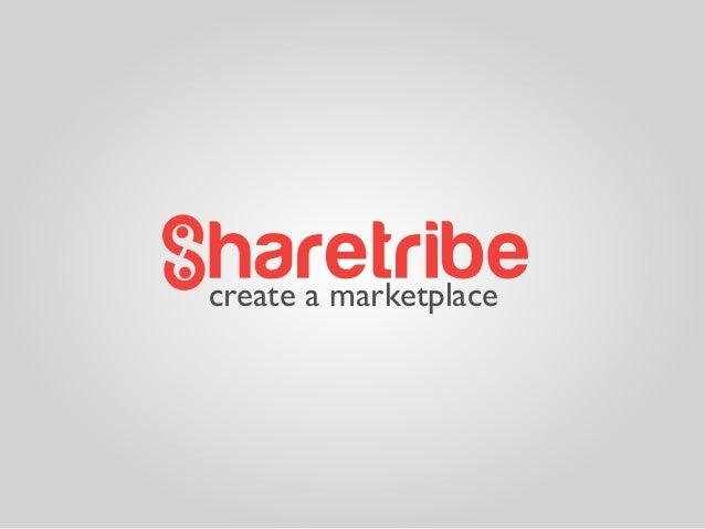 create a marketplace