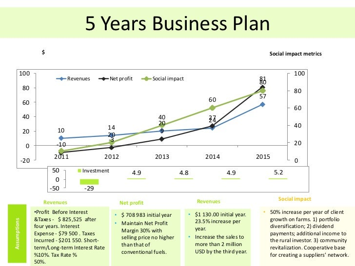 Sample 5 year business plan