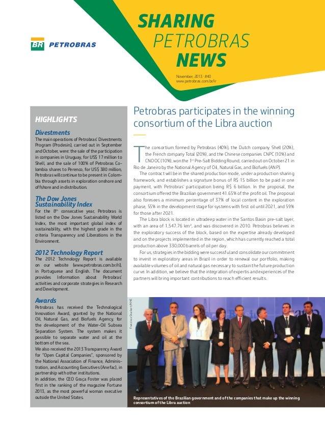 Edition 40 - Sharing in Petrobras - November/2013