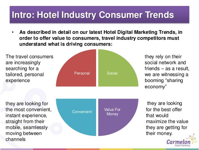 problems marketing in hotel industry Hotel sales and marketing: key trends and issues 1 1 introduction this reports aims to discuss the key trends and issues that are currently impacting sales and marketing within the hotel industry this particular sector has been transformed over recent years, by advances in technology which in turn have changed.