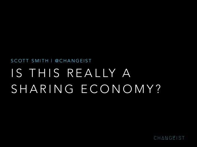 Sharing economy smith — lift14